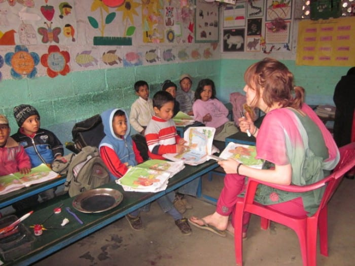 Volunteer Teaching in Pokhara