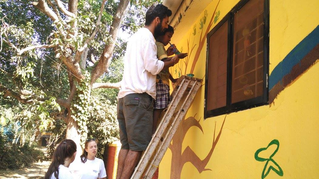 Construction and Renovation Volunteer in Goa India