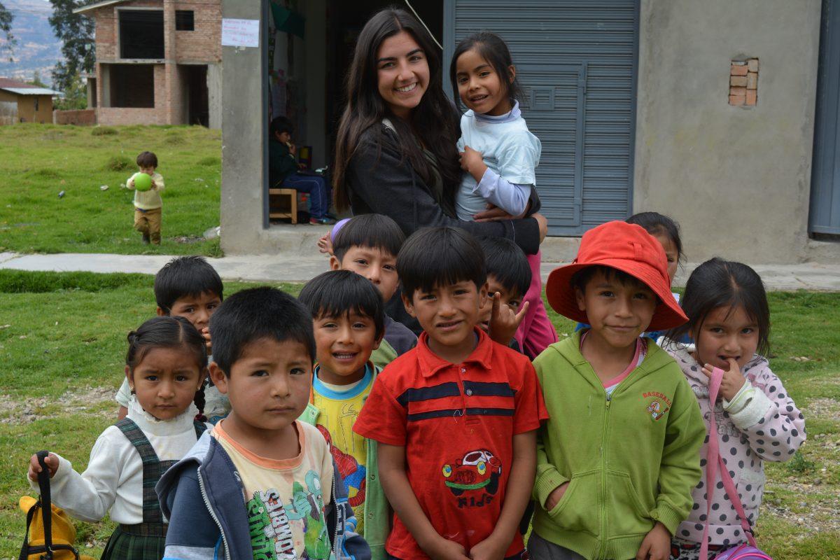 Kindergarten Volunteer Cajamarca Peru