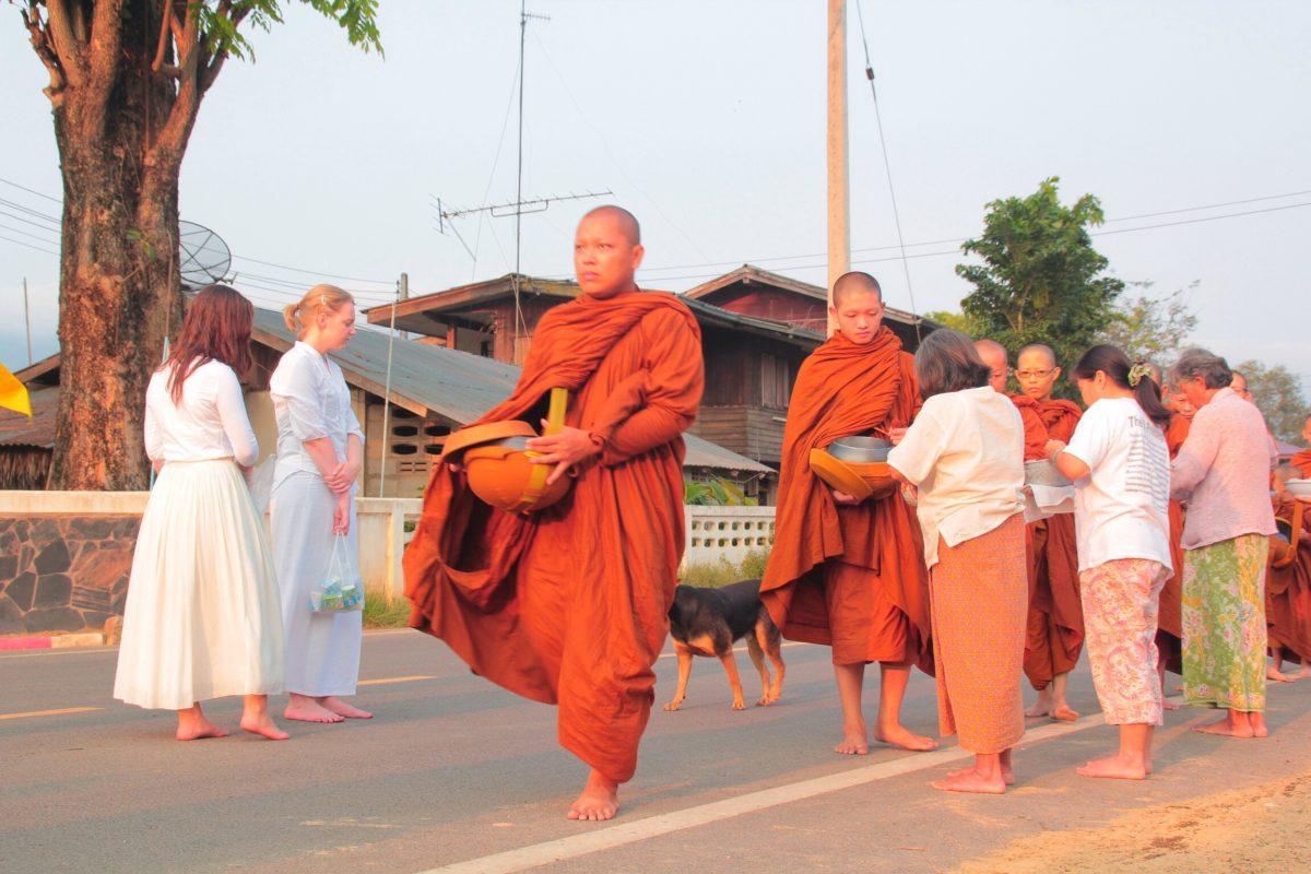 Thai Buddhism Experience Wang Nam Khiao Thailand