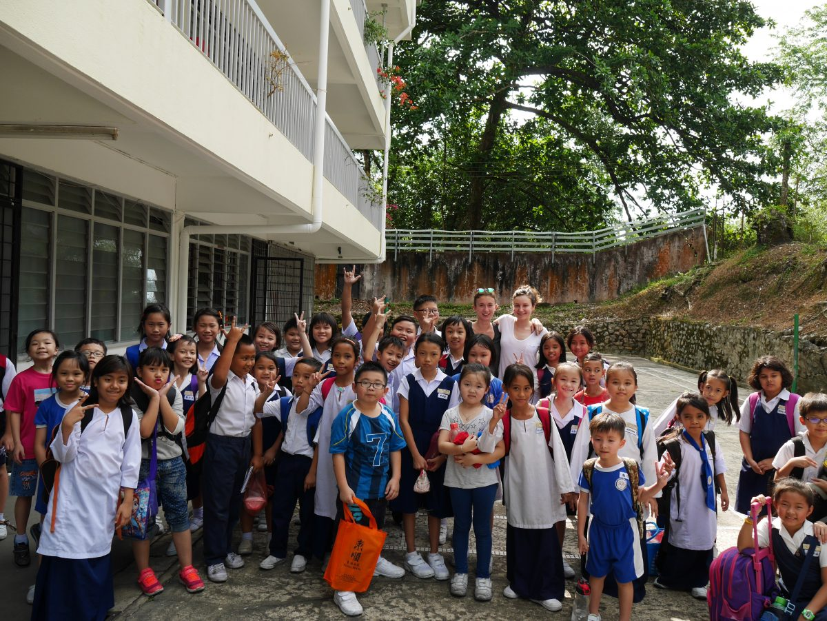 Volunteer Teaching Experience Kuching