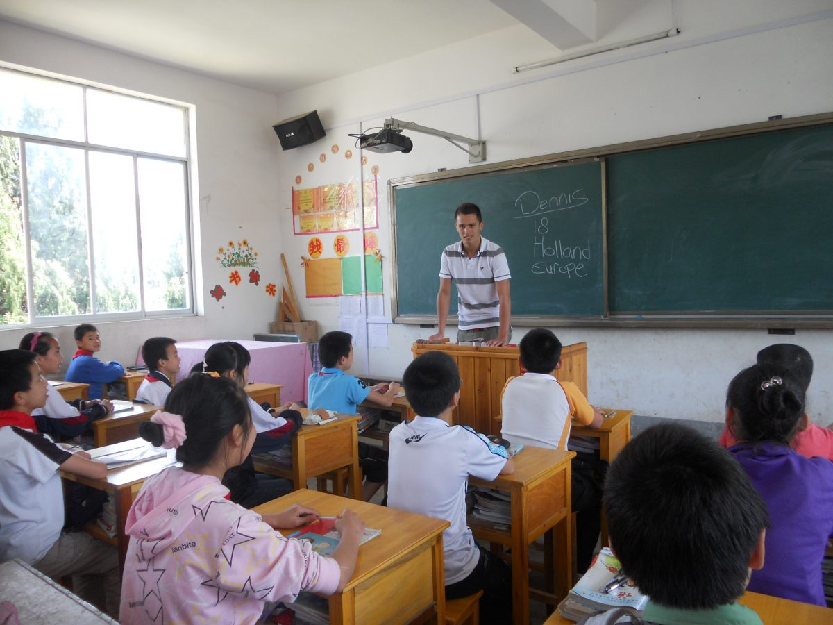 Paid Teaching in China