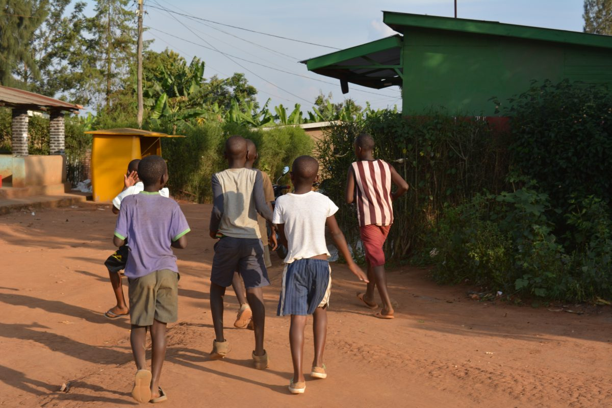 Community Childcare Volunteer Nezerwa Village