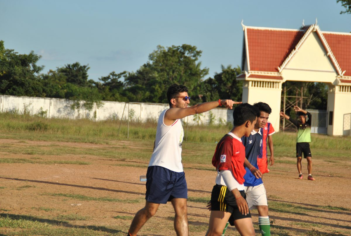 Cambodia Sports Coaching Volunteer