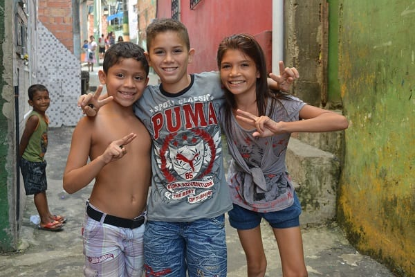 Community Outreach volunteer Manaus